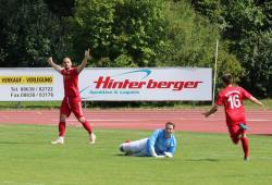 Sommerneuzugang Alin Ionas erzielte kurz vor Schluss den vielumjubelten Siegtreffer gegen Ebersberg.