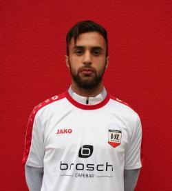 """Berat Uzun erzielte den dritten Treffer des VfL und musste wenig später mit """"Rot"""" vom Platz."""
