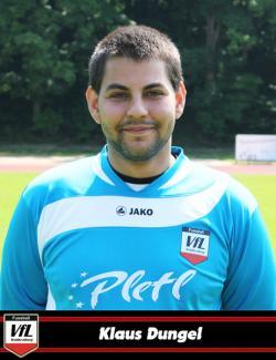 Goali Klaus Dungel mußte dreimal hinter sich greifen und viermal rettete die Latte