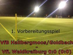 VfB Hallbergmoos/Goldbach - VfL Waldkraiburg 0:0 (0:0)
