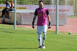 Auch Domen Bozjak, Torhüter des VfL Waldkraiburg, konnte die Niederlage in Dorfen nicht verhindern.
