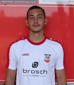 Sebastian Jusic bestätigte seine gute Form aus der Vorbereitung mit 2 Treffern!