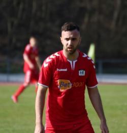 Berat Uzun erzielte das 1:0 im Hinspiel.