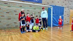 G-Junioren beim Hallenturnier des SV Gendorf/Burgkirchen