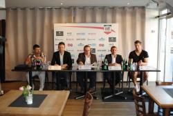 Von links nach rechts: Gerry Kukucska, Michael Pikulski, Andreas Schisler (Moderator), Marcus Dickow, Benjamin Hadzic