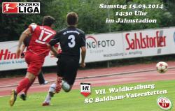 VfL startet in die Frühjahrssaison – SC Baldham-Vaterstetten zu Gast im Jahnstadion