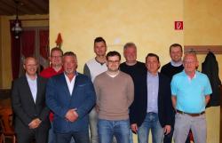 Die neue Vorstandschaft der Abteilung Fußball
