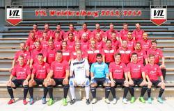 Das komplette Team des VfL