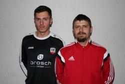 Gerry Kukucska mit Neuzugang Vlad Moisa