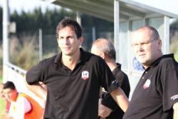 Trainer Adrian Malec und Co-Trainer Bernd Schultheis verlebten einen ruhigen Nachmittag in Rosenheim!