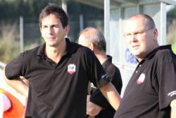 Das Trainergespann Adrian Malec und Co Bernd Schultheis waren nach dem Spiel erneut sehr enttäuscht über die verschenkten Punkte