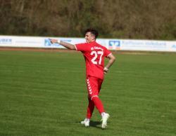 Bastian Grahovac belohnte sich für seine sehr gute Leistung und erzielte das zwischenzeitliche 1:0.