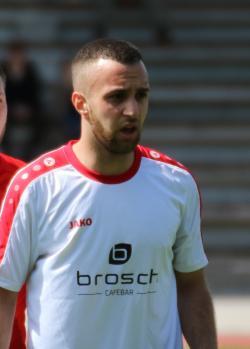 VfL-Stürmer Berat Uzun brachte den VfL früh in Führung.