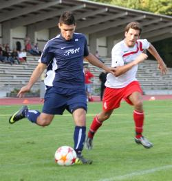 Burhan Karababa bereitete das 1:0 durch Markus Gibis vor.
