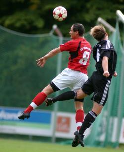 Yves Deutsch erzielte mit einem platzierten Kopfball den spielentscheidenden Treffer