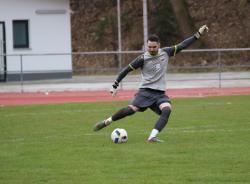 Domen Bozjak hielt in der 51. Minute einen Elfmeter und rettete den Sieg für den VfL.