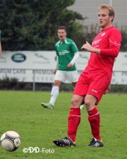 Matchwinner Markus Gibis spielte nach seinem Rücktritt als Trainer wie befreit auf und erzielte den Siegtreffer