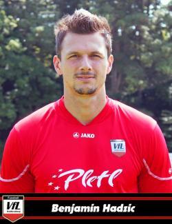 Kapitän Benny Hadzic erzielte kurz vor Spielende das goldene Tor, dass dem VfL drei Punkte brachte