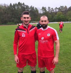 Codrin Peii (3) und Lucian Balc sorgten für alle vier VfL-Treffer