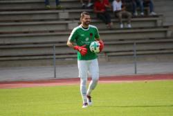 VfL-Schlußmann Domen Bozjak musste drei Gegentore hinnehmen.