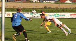 Der Kopfballtreffer von Yves Deutsch zum 1:0 für den VfL.
