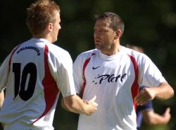 Danut Mititi (rechts) konnte auch mit seinen beiden Treffern die Niederlage nicht verhindern!