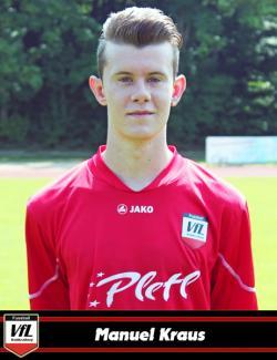 Der junge Nachwuchsstürmer Manuel Kraus erzielte einen wunderschönen Treffer zum 1:1 Ausgleich