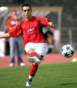 Doppelter Torschütze, obwohl er nur eine Halbzeit spielte: Liviu Pantea