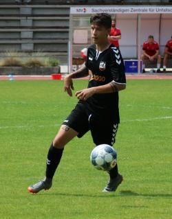 Thomas Weichsulgartner, einer der vielen jungen Spieler in der Waldkraiburger Mannschaft.