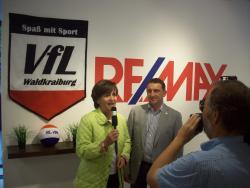 Pressekonferenz des VfL bei Remax Immobilien - Videobeitrag