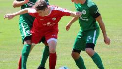 Der junge Oliver Weichhartist mit seiner Zweikampfstärke ist bereits eine wichtige Säule in der Mannschaft.