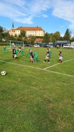 Bambini Jahrgang 2014 haben 2:1  gewonnen. gegen Zangberg