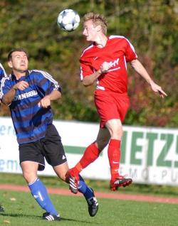 Für Eugen German ist die Saison wegen seines Kreuzbandrisses schon vorzeitig beendet!