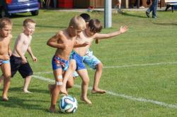 Abschlussfeier der kleinsten Fussballer