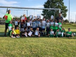 Pleiskirchen und VfL Spieler und Trainer