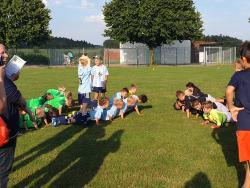 G-Junioren in Pleiskirchen beim Abschlussturnier