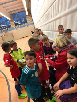 VfL Bambini hielten eine Weihnachtsfeier ab.