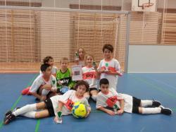 Glanzvoller 2.Platz unserer U10-Junioren beim Altöttinger Budenzauber zum Jahresabschluss am 11.12.2016