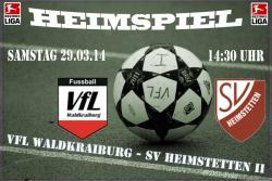 Drei Punkte müssen her – VfL zu Hause gegen Heimstetten II