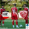 Der VfL Waldkraiburg freut sich auf das Lokalderby gegen den Regionalligisten TSV Buchbach