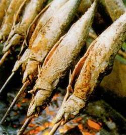 Steckerlfisch-Essen der AH