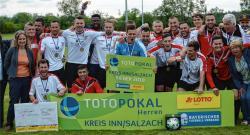 Der VfL als Kreissieger Inn/Salzach wünscht sich einen hochquarätigen Gegner.