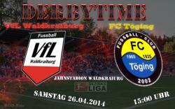 Derby im Jahnstadion – VfL empfängt den Tabellenführer FC Töging